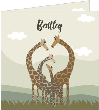 Bentley Illustratief Giraffes